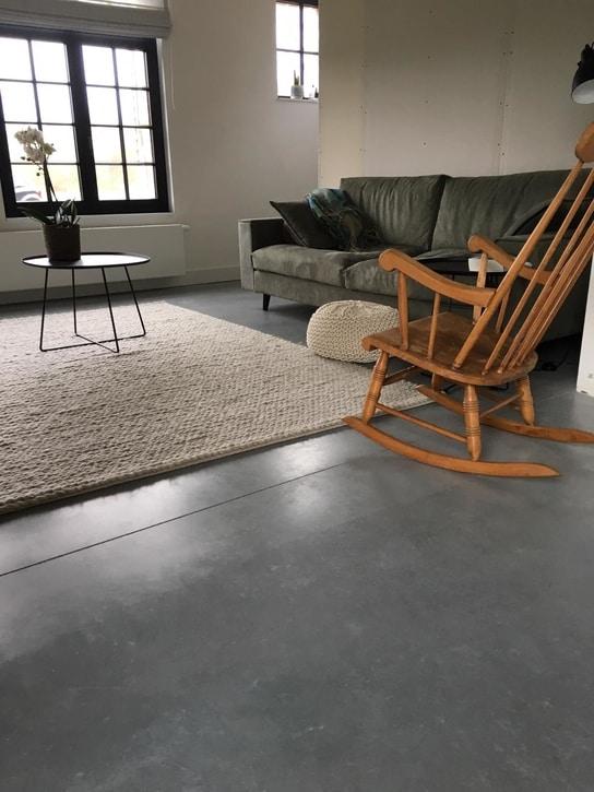 betonvloeren binnen